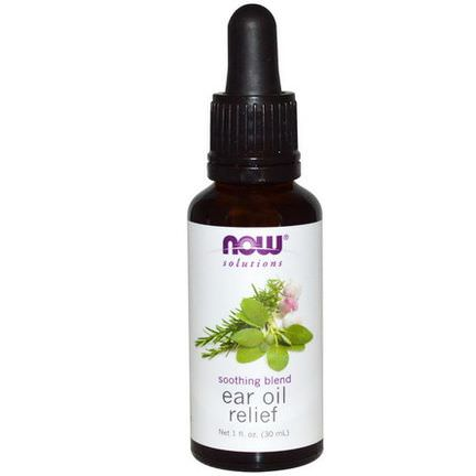 Now Foods, Solutions, Ear Oil Relief 30ml