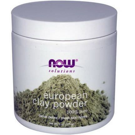 Now Foods, Solutions, European Clay Powder 170g