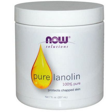 Now Foods, Solutions, Pure Lanolin 207ml