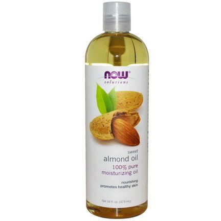 Now Foods, Solutions, Sweet Almond Oil 473ml
