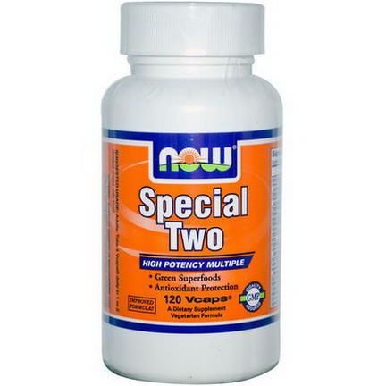 Now Foods, Special Two, High Potency Multiple, 120 Vcaps