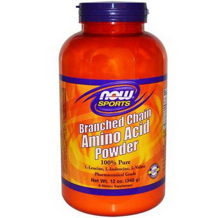 Now Foods, Sports, Branched Chain Amino Acid Powder 340g