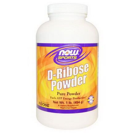 Now Foods, Sports, D-Ribose Powder 454g