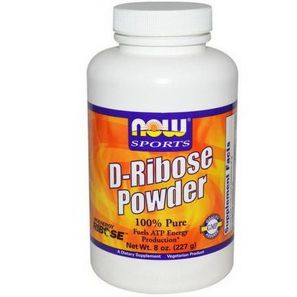 Now Foods, Sports, D-Ribose Powder 227g