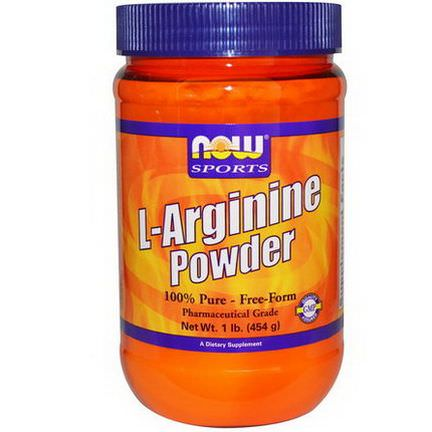 Now Foods, Sports, L-Arginine Powder 454g