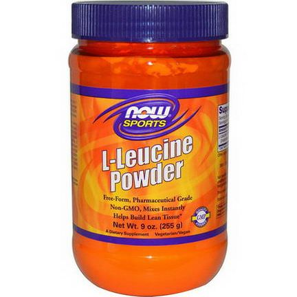 Now Foods, Sports, L-Leucine Powder 255g