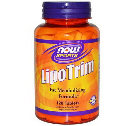 Now Foods, Sports, Lipo Trim, 120 Tablets