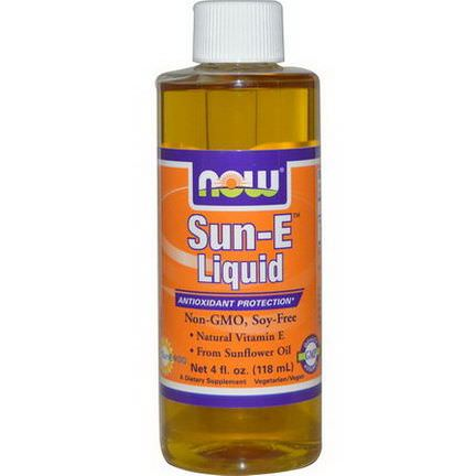 Now Foods, Sun-E Liquid 118ml