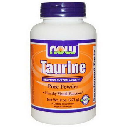 Now Foods, Taurine, Pure Powder 227g