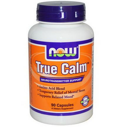 Now Foods, True Calm, 90 Capsules