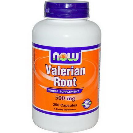 Now Foods, Valerian Root, 500mg, 250 Capsules