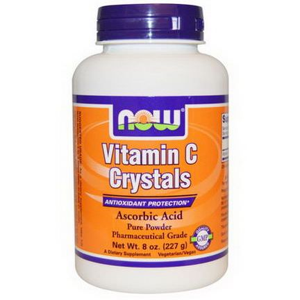 Now Foods, Vitamin C Crystals 227g