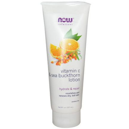 Now Foods, Vitamin C&Sea Buckthorn Lotion 237ml