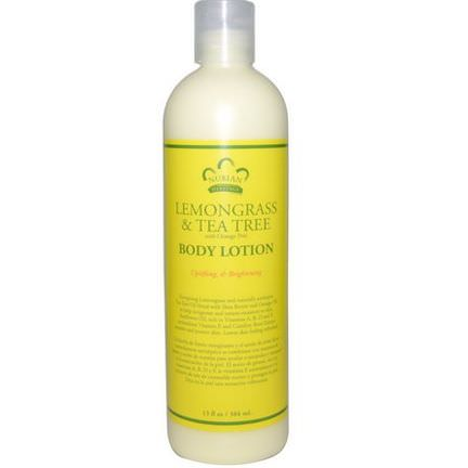 Nubian Heritage, Body Lotion, Lemongrass&Tea Tree 384ml