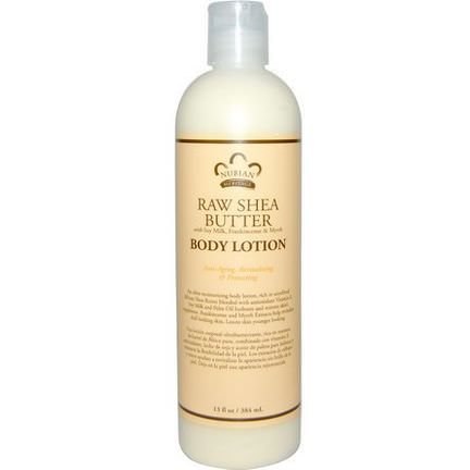 Nubian Heritage, Body Lotion, Raw Shea Butter 384ml