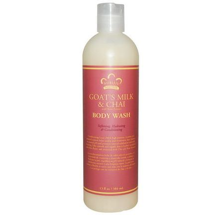 Nubian Heritage, Body Wash, Goat's Milk&Chai 384ml