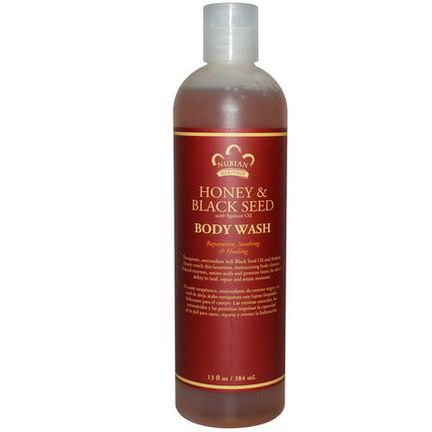 Nubian Heritage, Body Wash, Honey&Black Seed 384ml