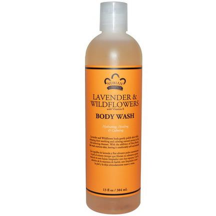 Nubian Heritage, Body Wash, Lavender&Wildflowers 384ml