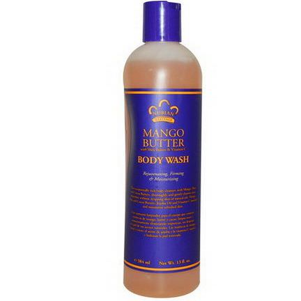 Nubian Heritage, Body Wash, Mango Butter 384ml