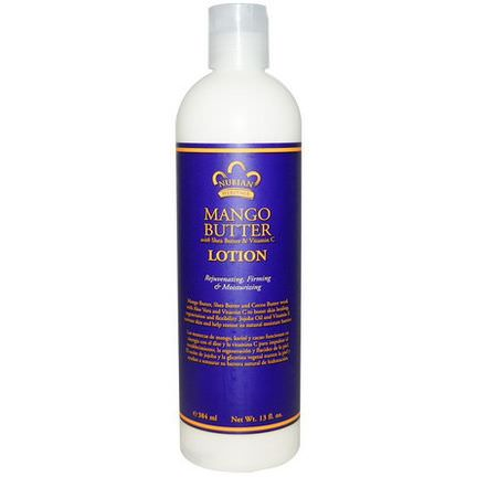 Nubian Heritage, Mango Butter Lotion, With Shea Butter&Vitamin C 384ml