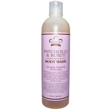 Nubian Heritage, Patchouli&Buriti Body Wash 384ml