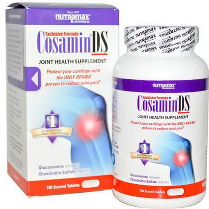 Nutramax, Cosamin DS, Joint Health Supplement, 150 Scored Tablets