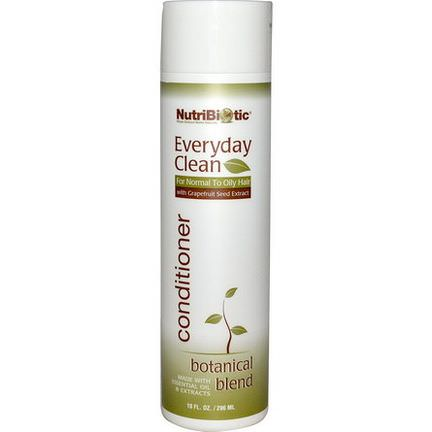 NutriBiotic, Everyday Clean, Conditioner, Botanical Blend 296ml