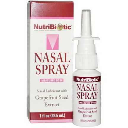 NutriBiotic, Nasal Spray, with Grapefruit Seed Extract 29.5ml
