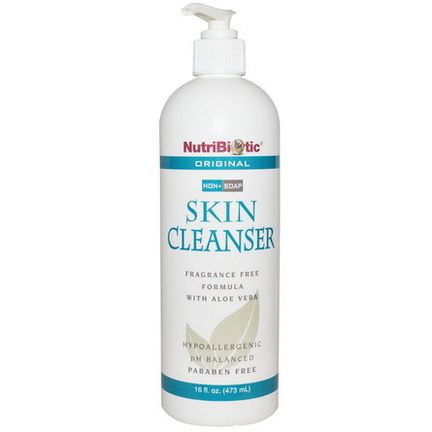 NutriBiotic, Skin Cleanser, Non-Soap, Original 473ml