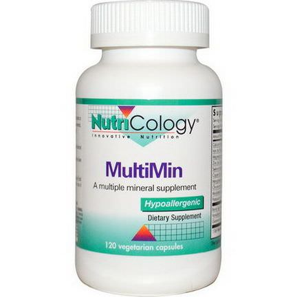 Nutricology, MultiMin, 120 Veggie Caps