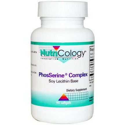 Nutricology, PhosSerine Complex, 90 Softgels