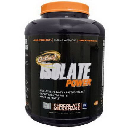 Oh Yeah, Isolate Power, Chocolate Milkshake 1814g