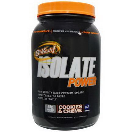 Oh Yeah, Isolate Power, Cookies&Creme 908g