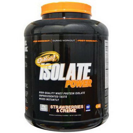 Oh Yeah, OhYeah! Isolate Power Strawberries&Creme 1814g