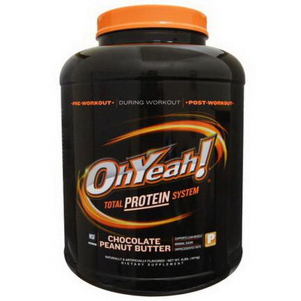 Oh Yeah, Total Protein System, Chocolate Peanut Butter 1814g