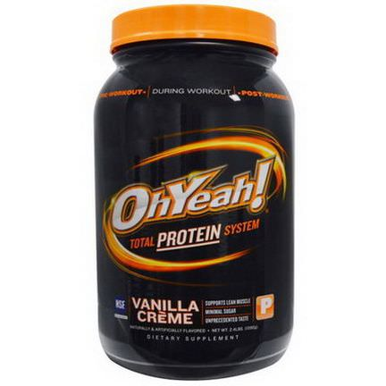 Oh Yeah, Total Protein System, Vanilla Creme 1090g