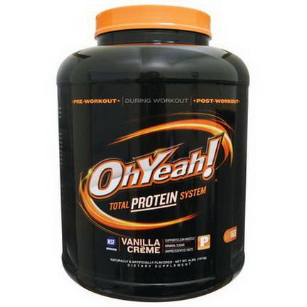 Oh Yeah, Total Protein System, Vanilla Creme 1814g