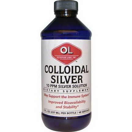 Olympian Labs Inc. Colloidal Silver 237ml