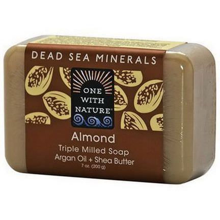 One with Nature, Almond Soap Bar 200g