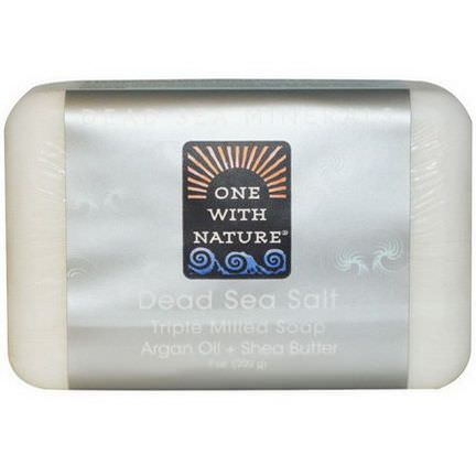 One with Nature, Dead Sea Salt Soap Bar 200g