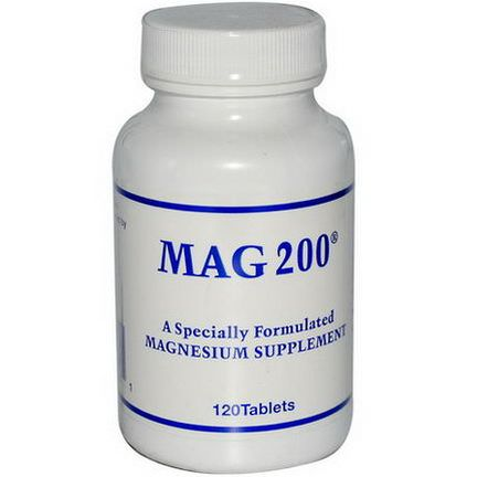 Optimox Corporation, MAG 200, 120 Tablets
