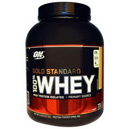 Optimum Nutrition, Gold Standard, 100% Whey, Cake Batter 2.27 kg