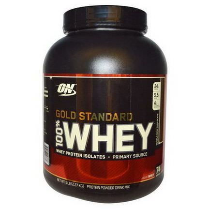 Optimum Nutrition, 100% Whey, Gold Standard, Double Rich Chocolate 2,27 kg