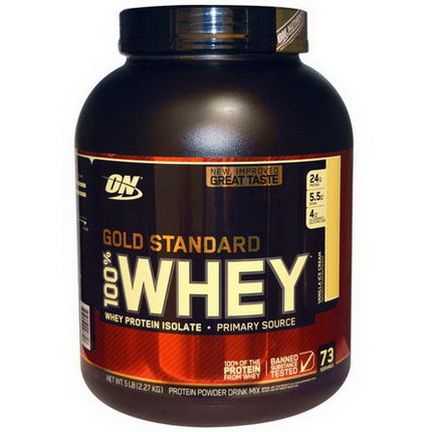 Optimum Nutrition, Gold Standard 100% Whey, Vanilla Ice Cream 2.27 kg