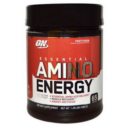 Optimum Nutrition, Essential AmiN.O. Energy, Fruit Fusion 585g