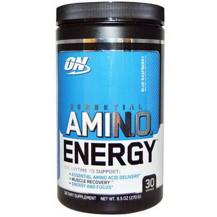 Optimum Nutrition, Essential Amino Energy, Blue Raspberry 270g