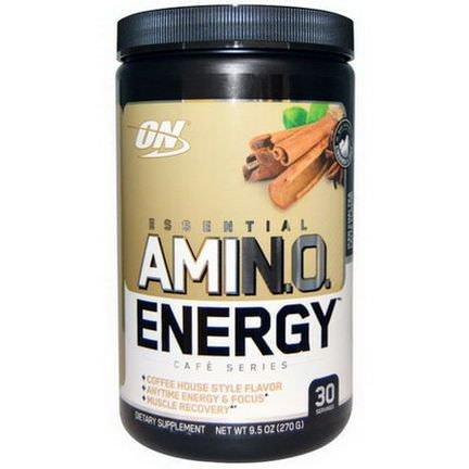 Optimum Nutrition, Essential Amino Energy, Iced Chai Tea Latte Flavor 270g