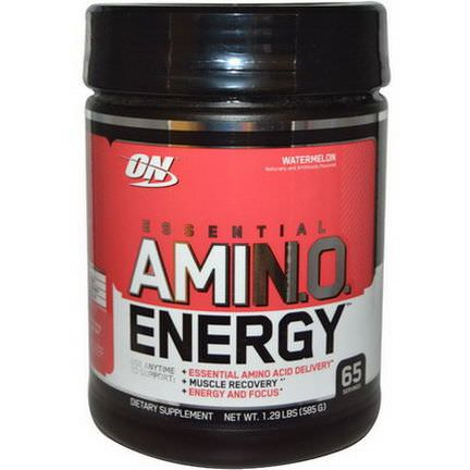 Optimum Nutrition, Essential Amino Energy, Watermelon 585g