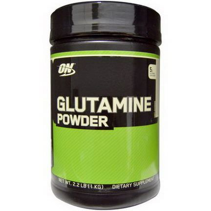 Optimum Nutrition, Glutamine Powder, Unflavored 1 kg