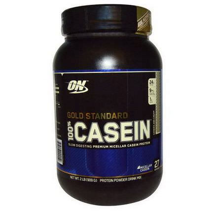 Optimum Nutrition, Gold Standard, 100% Casein, Cookies and Cream 909g